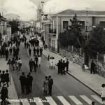 Via Roma in una foto d'epoca