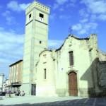 Immagine di repertorio della Chiesa di Santa Chiara e del suo campanile