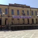 Il municipio occupato con l'appoggio dei primi cittadini dell'Unione dei Comuni