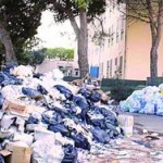 I rifiuti a cielo aperto