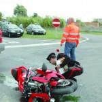 Una foto relativa all'incidente di mercoledi scorso