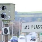 Autovelox di Las Plassas colpito dai pallettoni