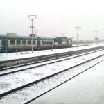 La stazione FdS vista dal treno
