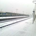 Stazione FdS vista dal treno
