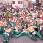 Foto di gruppo delle maschere
