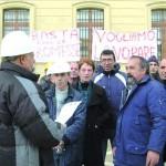 Manifestazione in Piazza Marconi