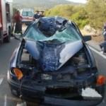 LOC. CUGNANA. INCIDENTE STRADALE MORTALE AUTO CONTRO MOTO