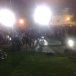 La Piazza Melas gremita di persone in occasione del KeneMusicFest