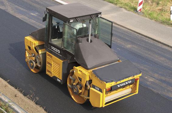 Nuovo asfalto a San Gavino