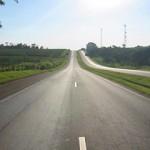 Nuovo asfalto sulla strada Pabillonis - San Gavino