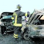 Immagini dell'incidente