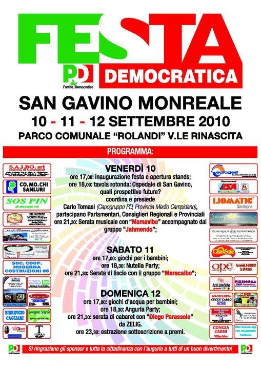 Festa Democratica 2010