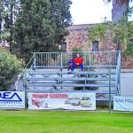 Lo stadio dotato di tribune