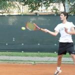 Tennis per promuovere lo zafferano dop
