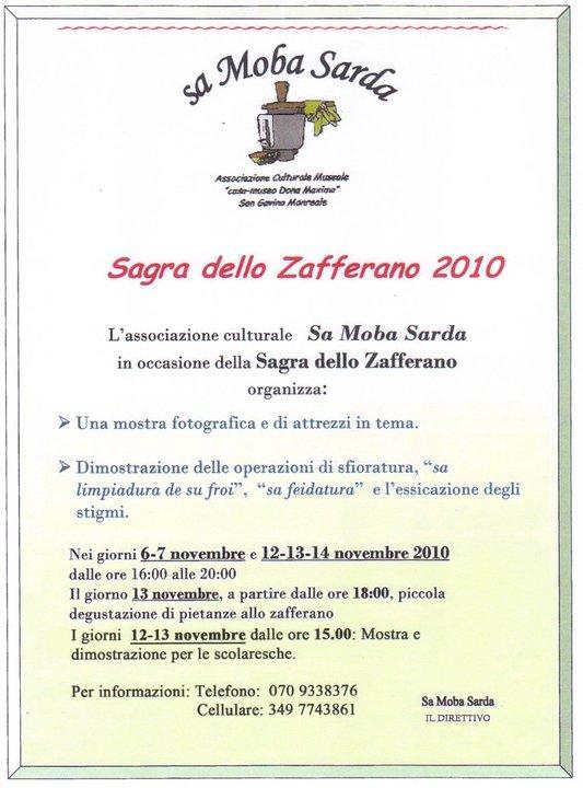 Sagra dello zafferano 2010