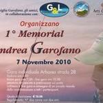 1° Memorial Andrea Garofano