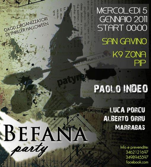 Befana Party K9
