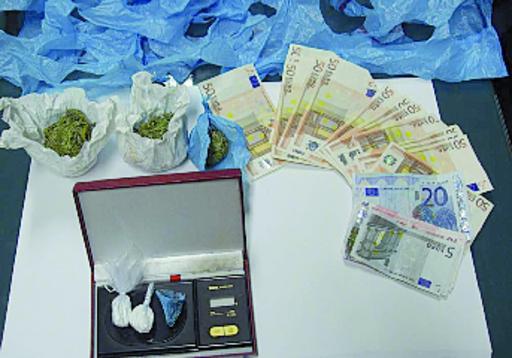 Arresto e condanna per lo spacciatore di coca e marijuana