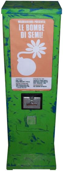 Distributore di bombe di semi
