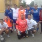 Alcuni ragazzi dell'associazione, la squadra Delfino Calcio