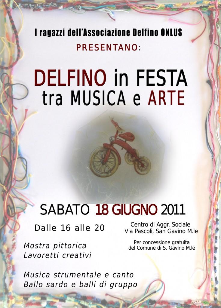Locandina della Festa tra Musica e Arte