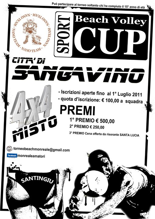 Beach Volley Cup città di San Gavino