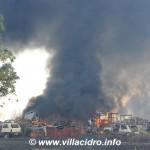 Disastro ambientale: inferno di fuoco tra San Gavino e Villacidro