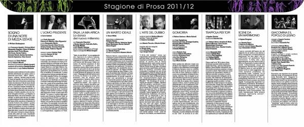 Stagione di prosa 2011-12