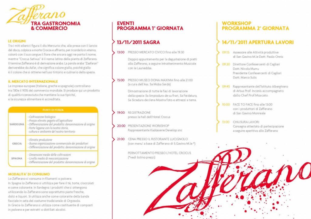 Primo Workshop dello Zafferano