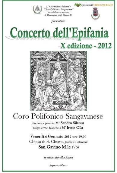 X° Concerto dell'Epifania