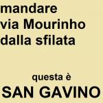Mandare via Mourinho dalla sfilata