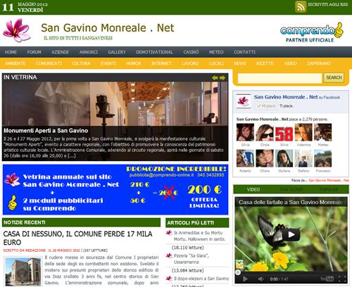 Sostieni San Gavino Monreale . Net