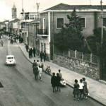 La via Roma in una foto d'epoca