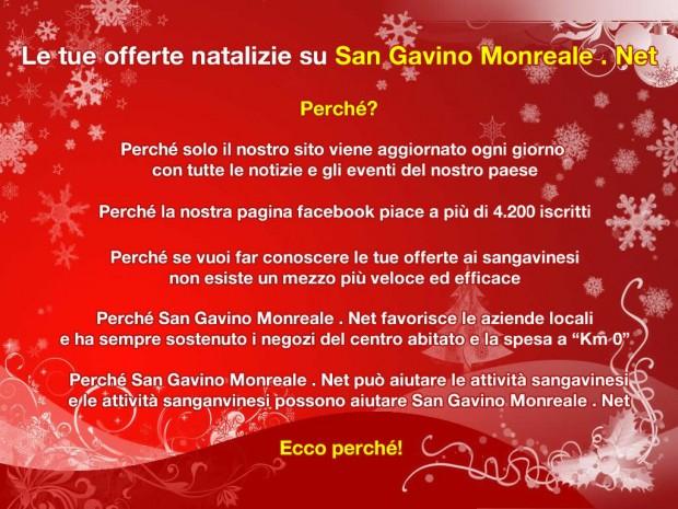 Le tue offerte natalizie su San Gavino Monreale . Net