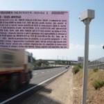 L'AUTOVELOX A MONASTIR, NEL RITAGLIO LA MULTA CONTESTATA DAI VIGILI URBANI ALLA PROVINCIA DEL MEDIO CAMPIDANO