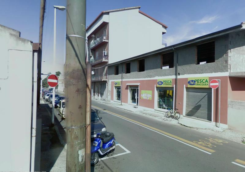 Incrocio tra via Mazzini e viale Rinascita