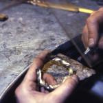 Artigiani nella fonderia