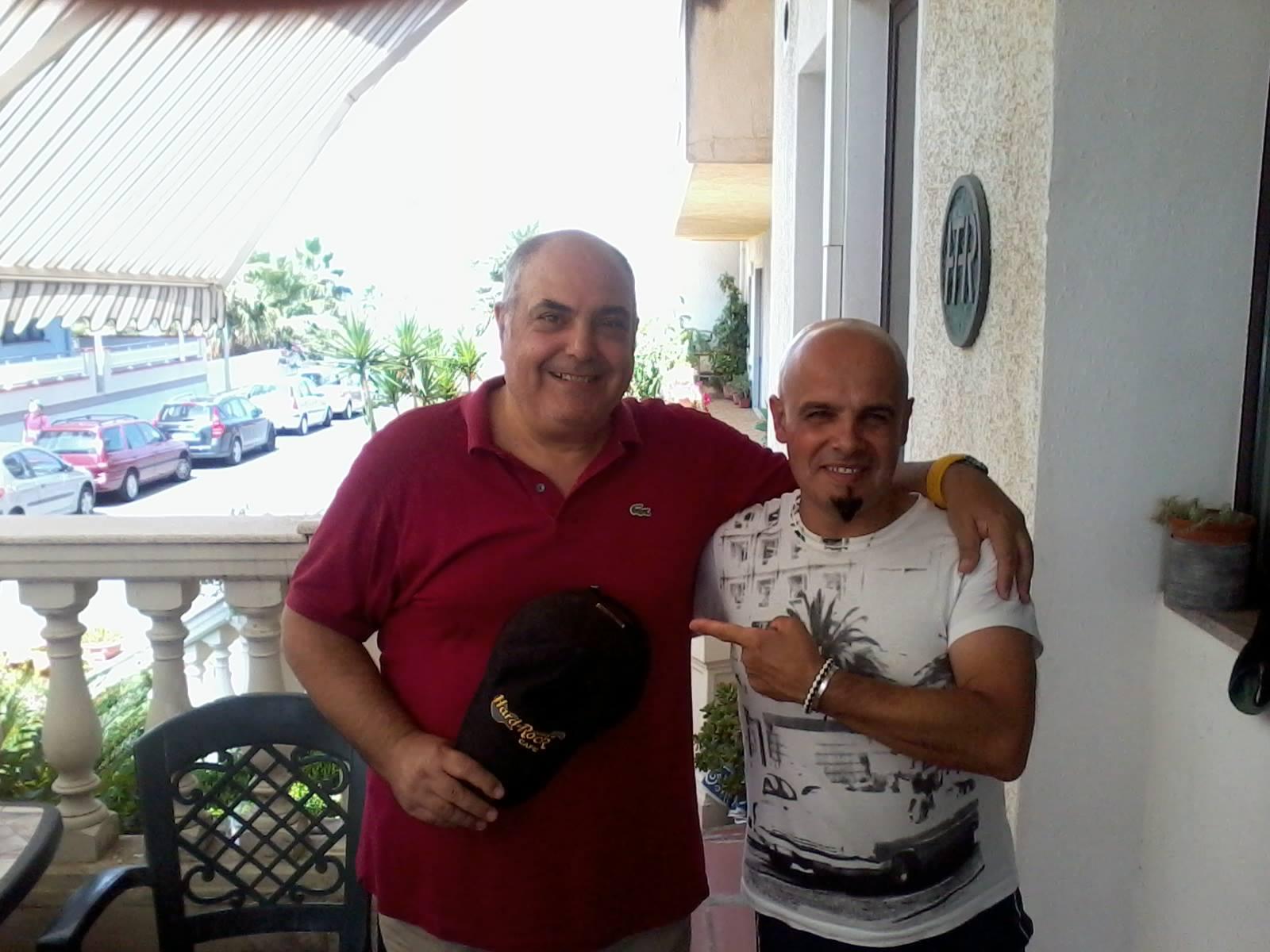 Massimo Luca e Tore Melis