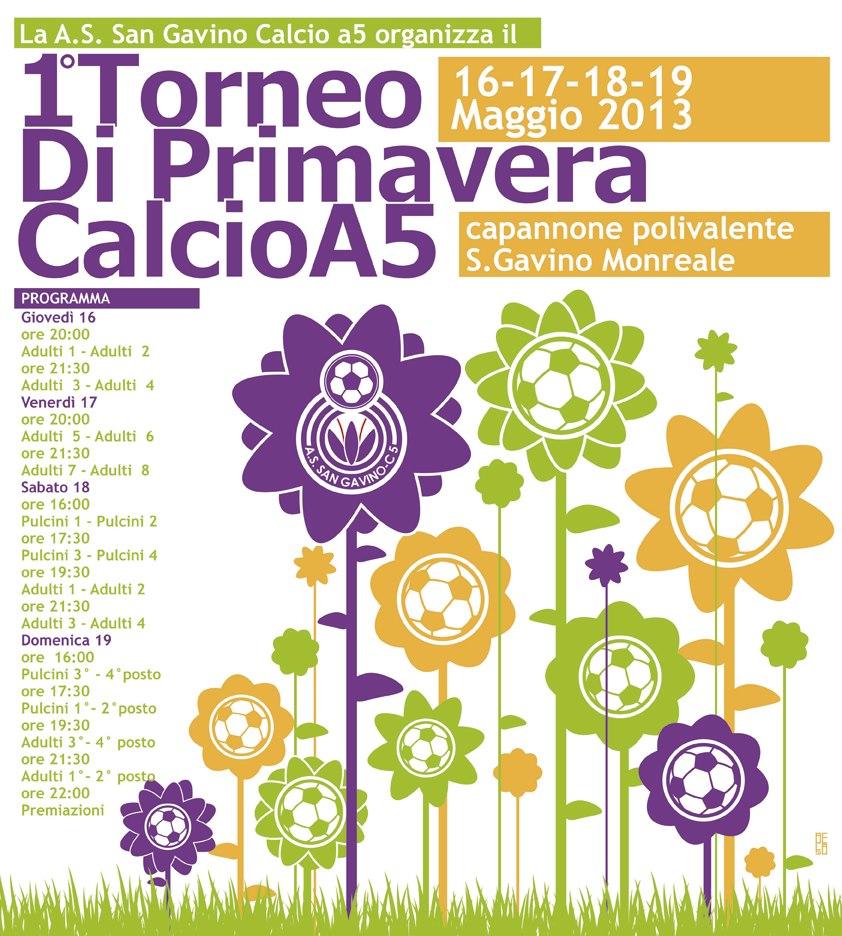 1° Torneo di Primavera - Calcio a 5