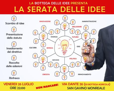 La serata delle idee