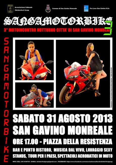 Terza edizione d Sangamotorbike