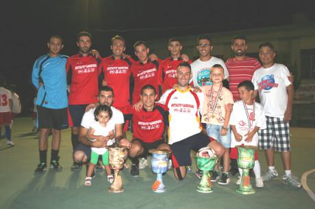 La squadra vincitrice (foto di Guido Marongiu)