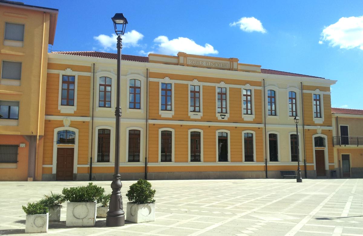 Ufficio Lavoro San Gavino : La nuova veste di piazza marconi san gavino monreale net