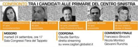 Confronto tra candidati alle Primarie del PD