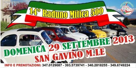 14° raduno delle 500 e di auto e moto d'epoca