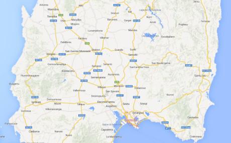Google Maps Sardegna