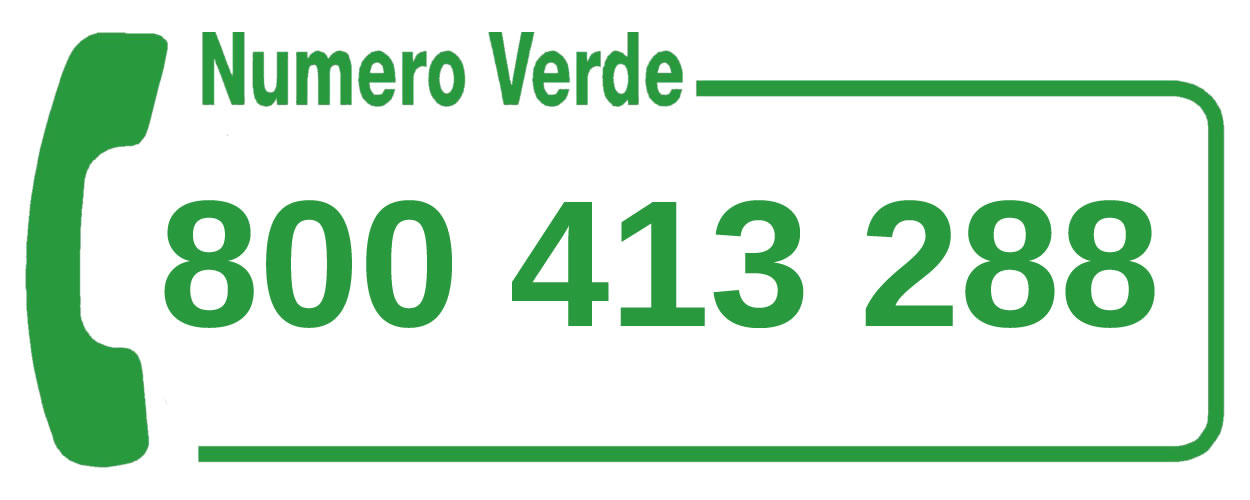 Numero verde del servizio di raccolta dei rifiuti