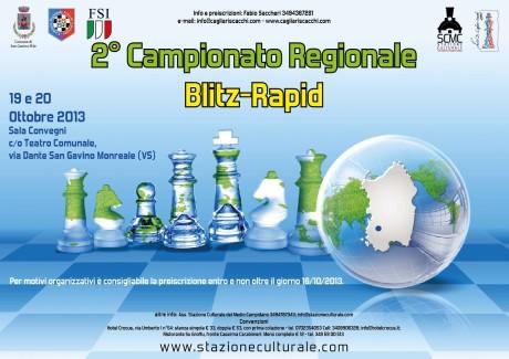 2° Campionato Regionale di Scacchi Blitz-Rapid