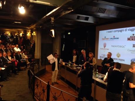 Roberto Petza premiato con le Tre Forchette di Gambero Rosso