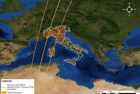 Il satellite Goce precipita